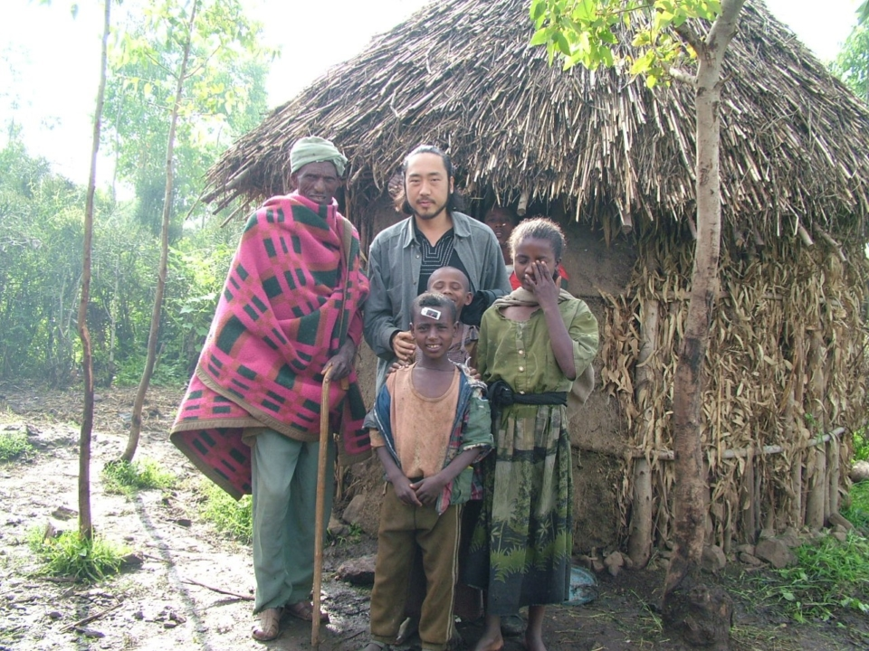 (About the photo)My home, built for me by the villagers. In the outskirts of Gondar, Ethiopia.