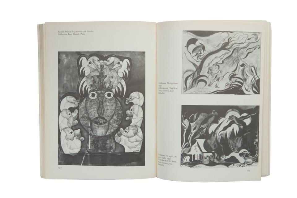 (写真について)『アウトサイダー・アート』より。文中に登場する、スコッティ・ウィルソンのアートワーク。