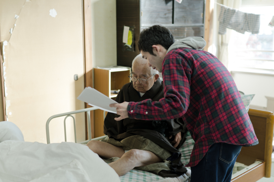 (写真について)第3作『BPSD』では菅原さんは俳優として出演せず、演出に専念した。