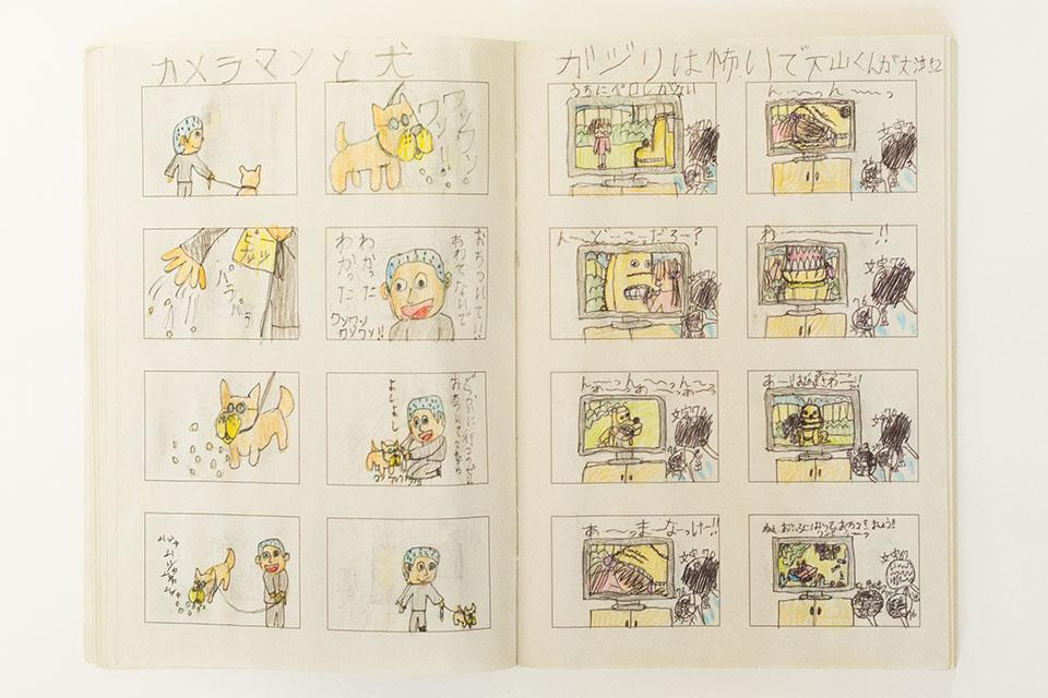 (写真について)今回写真を担当した阪本勇さんも「カメラマン」として作品中に登場。