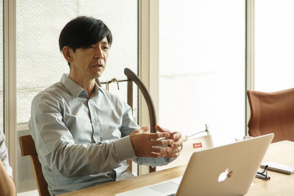(写真について)塚本由晴さん。