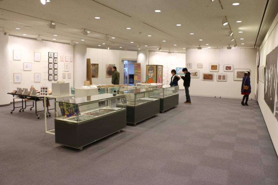 (写真について)函館展展示風景