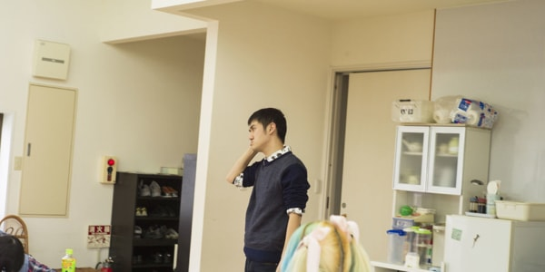 A photograph of UEDA Tadashi's face