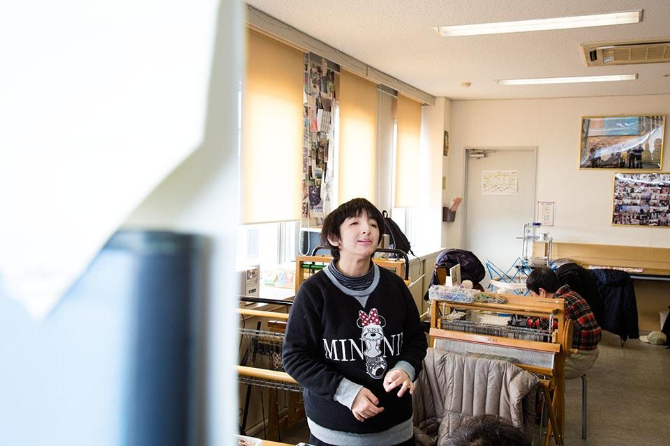 (写真について)恵梨香さんが熱心にオススメしてくれたのが、絶品の〈るんびにい美術館〉自家製のラスク。一階のカフェスペースで購入可能。