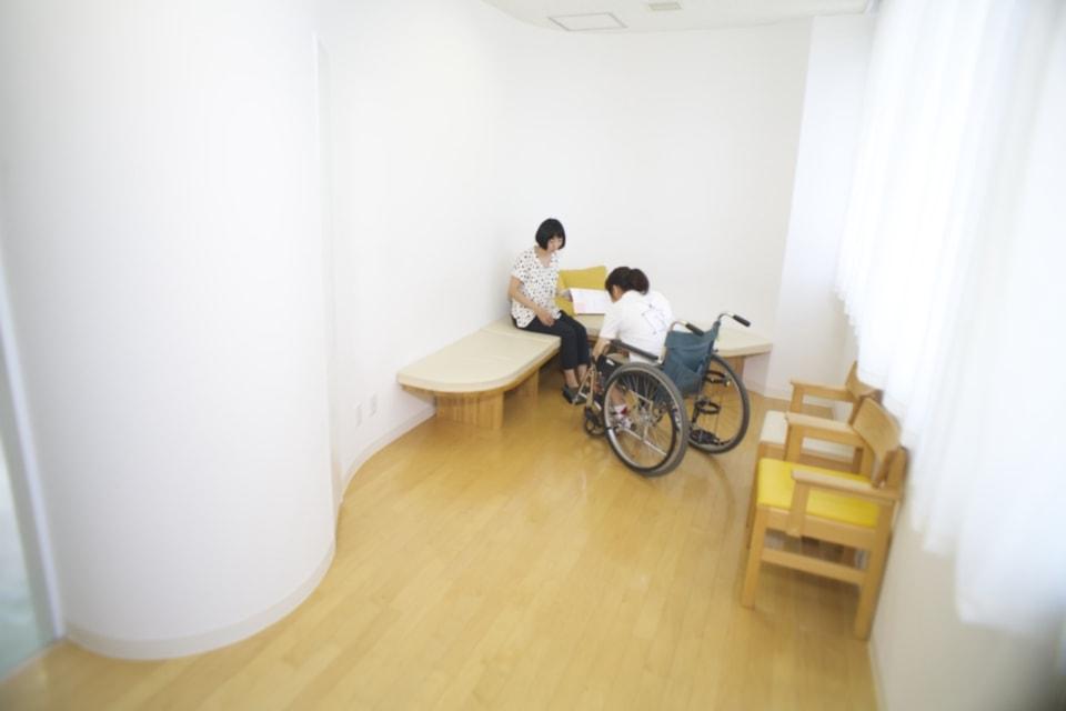 (写真について)つつまれサロン/筑波メディカルセンター病院