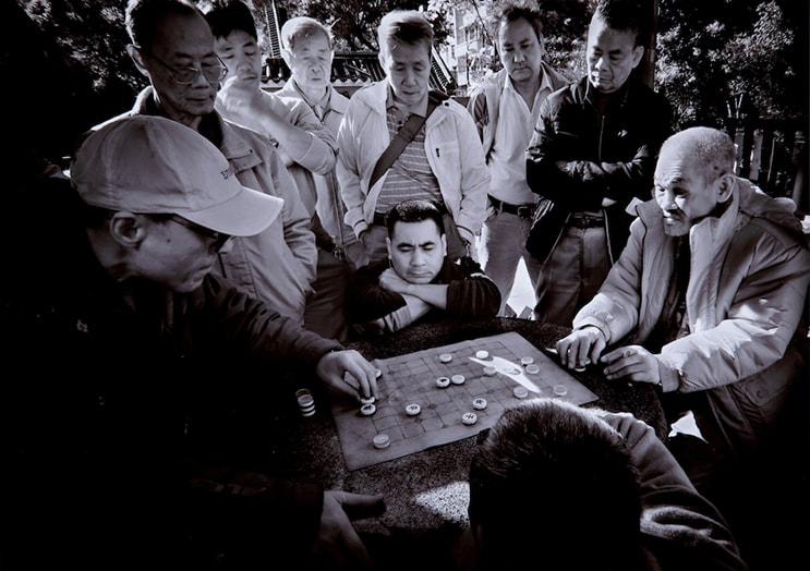 (写真について)リー・カム・チュアン 《全視線を集めて》