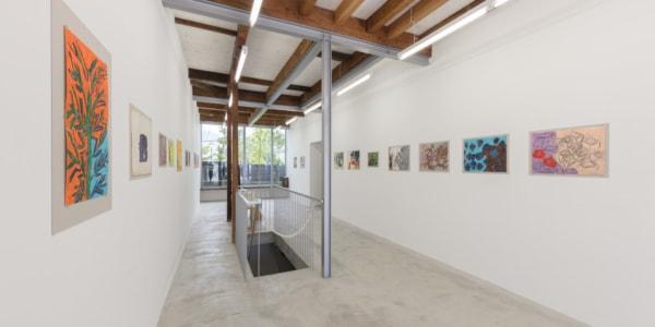 みずのき絵画教室で「絵の虫」とも称された、高橋滋の個展