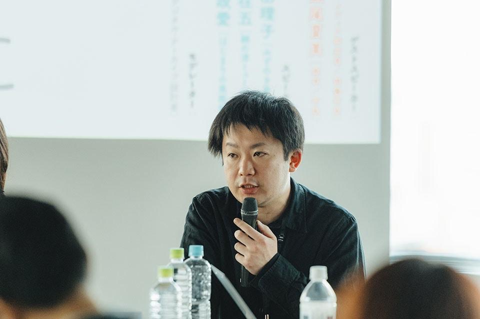 (写真について)細谷修平さん。