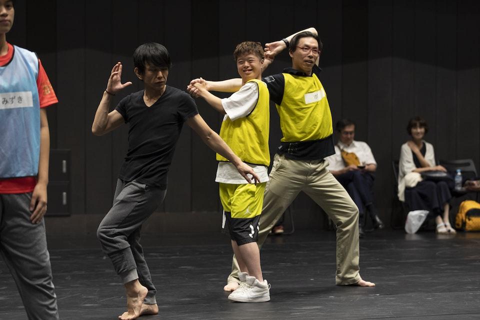 (写真について)DAZZLE ダンス・ワークショップin京都の様子(2018年7月14日) Photo:冨田了平