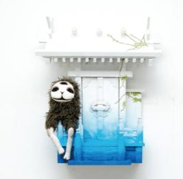 (写真について)石井ようこ「妖怪イヌジマ」