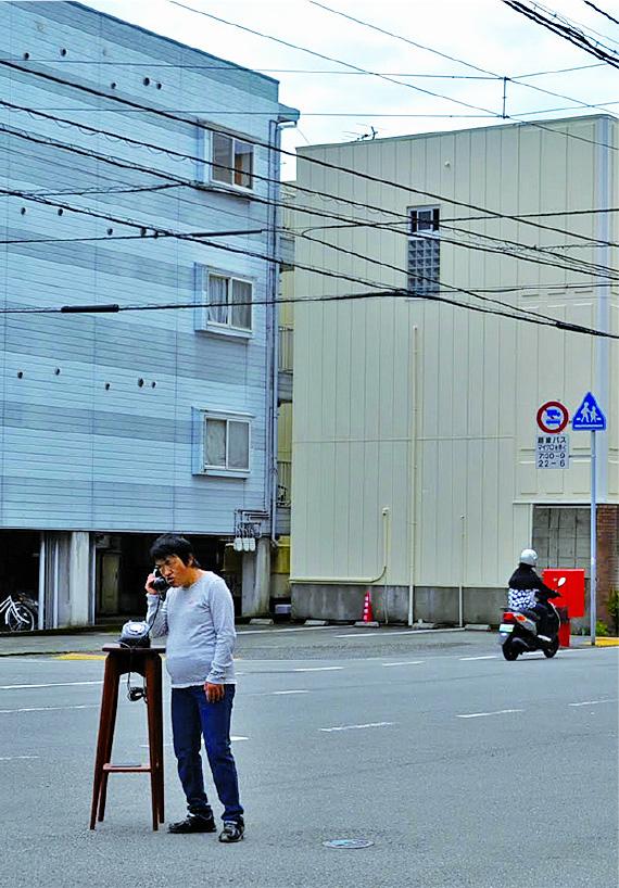 (写真について)鎌倉あけみ「電話」
