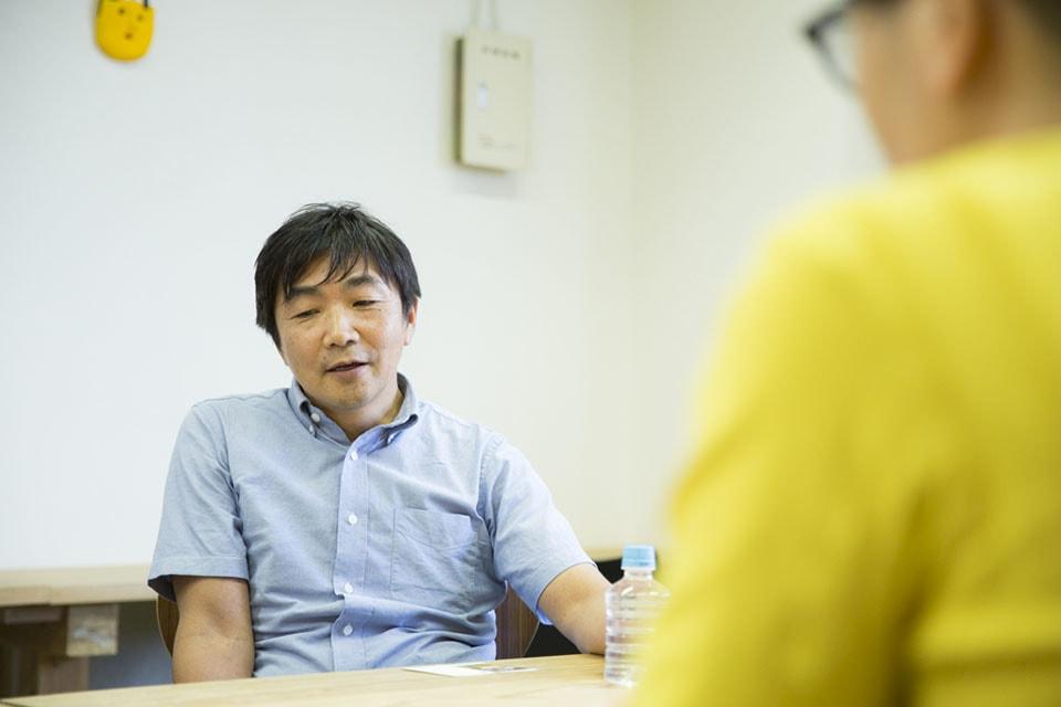 (写真について)村瀬孝生さん。