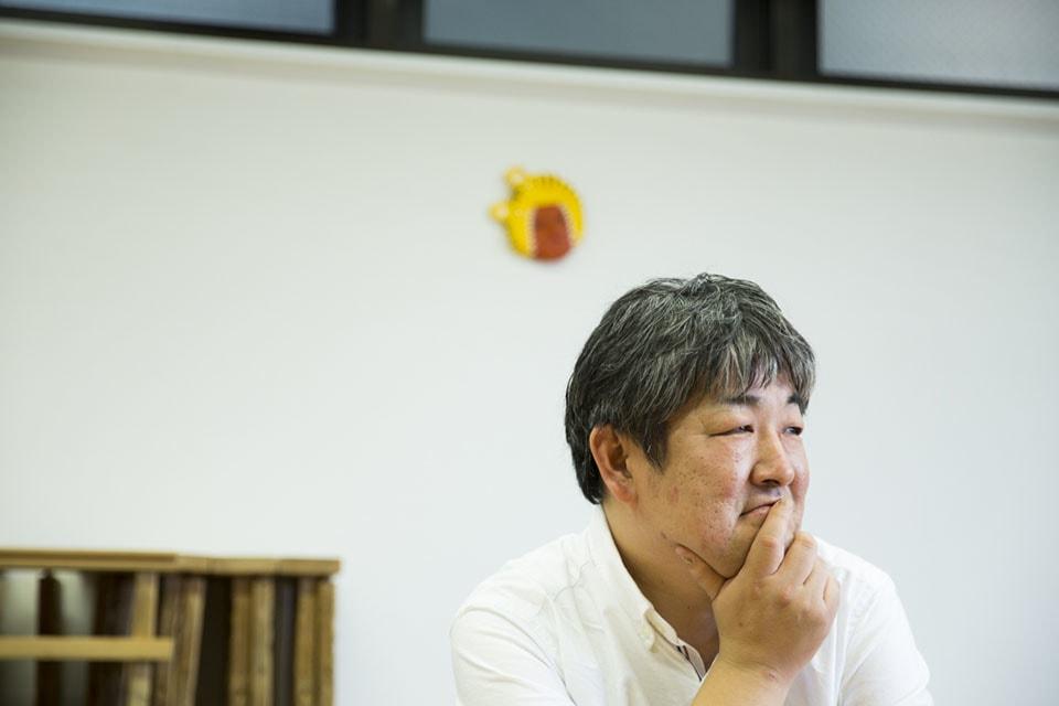 (写真について)樋口龍二さん。