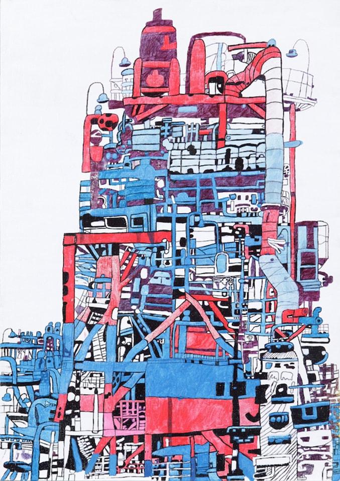 (写真について)《工場color5》