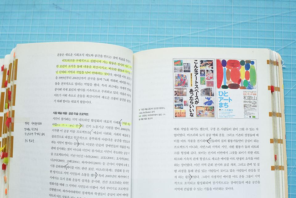 (写真について)コさんが〈たんぽぽの家〉を知るきっかけとなった書籍「エイブルアート」。