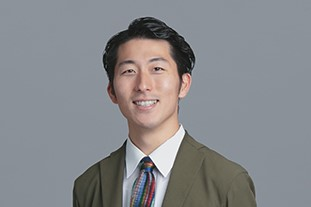 A photograph of MATSUDA Fumito's face