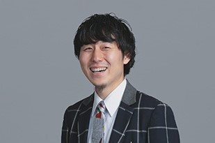 A photograph of MATSUDA Takaya's face