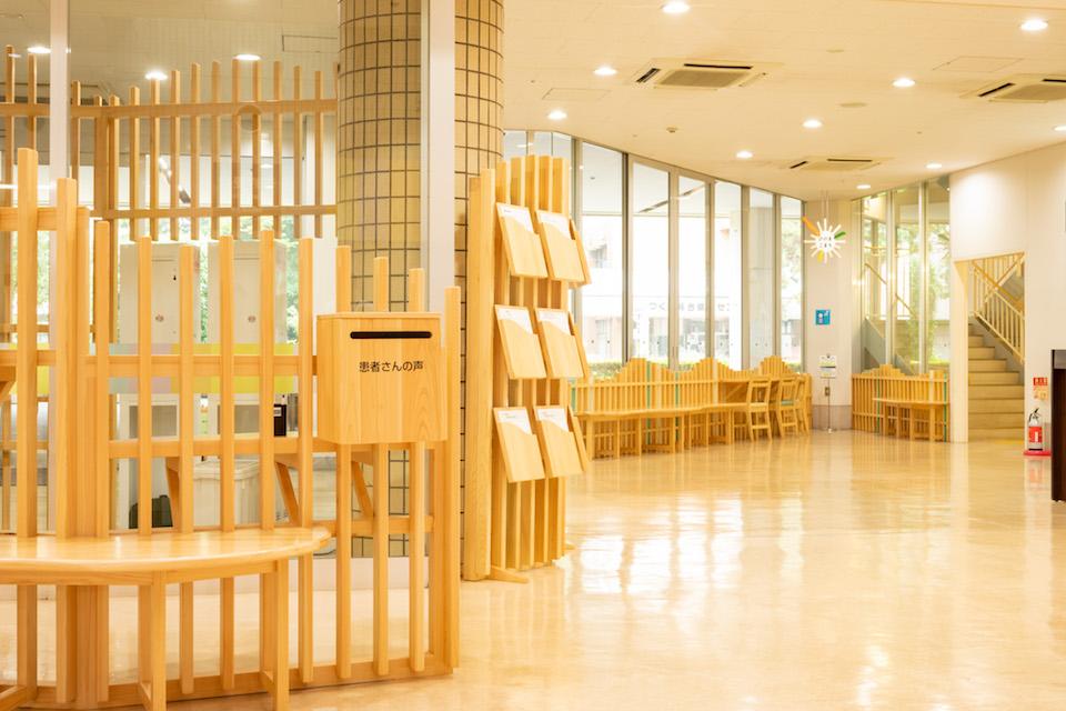 (写真について)筑波メディカルセンター病院 エントランス