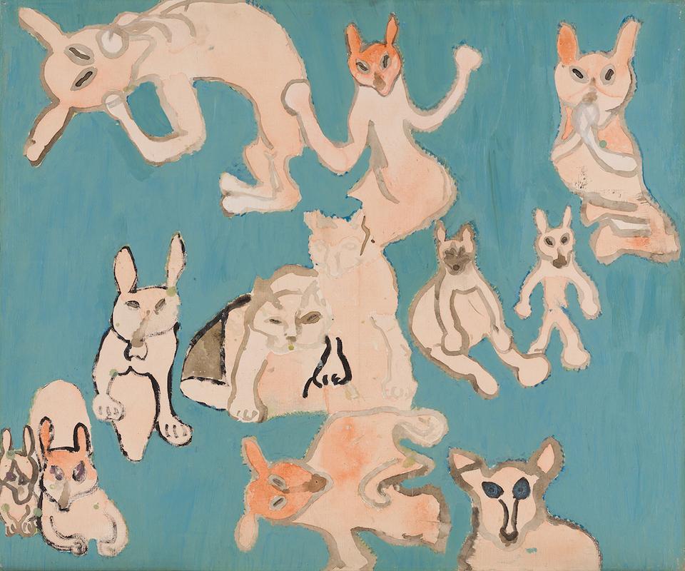 (写真について)小笹逸男《私の友達》 1985-1989 年頃 みずのき美術館所蔵 提供:みずのき美術館