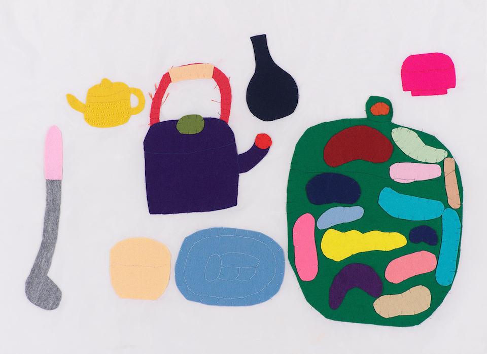(写真について)山本純子《無題(おたま、急須、やかんなど)》 1990 年頃 © Junko Yamamoto Courtesy of Yukiko Koide Presents