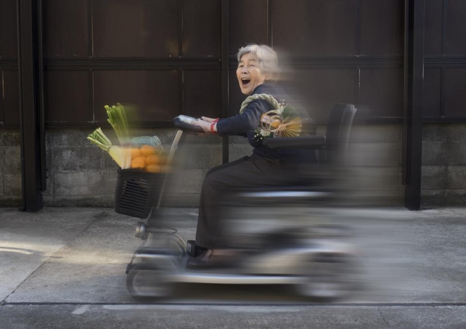 (写真について)'熊本の自撮りおばあちゃん'こと西本喜美子