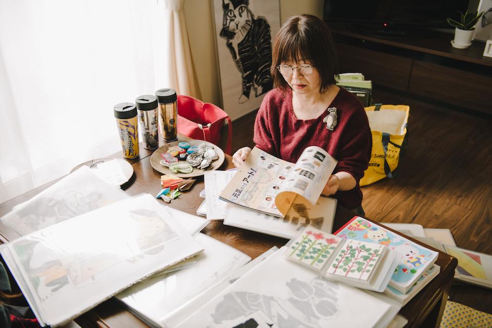 (写真について)姫野さんの母、睦子さん。