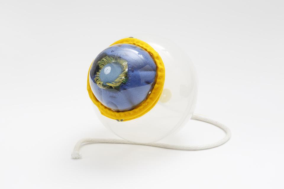 (写真について)《眼球模型》2016 ミクストメディア 撮影: 木奥恵三 Courtesy of the artist