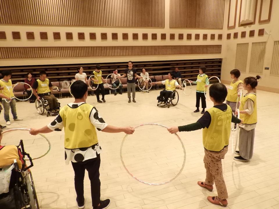 (写真について)Photo: 日本財団 DIVERSITY IN THE ARTS