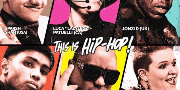ヒップホップ・カルチャーについてのディスカッション「THIS IS HIP-HOP!」をライブ配信