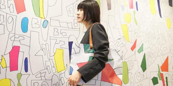 東京駅の駅構内で、「アップサイクルアートミュージアム」を開催